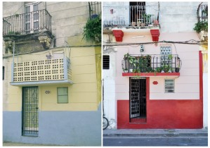 left: Salud #833, Centro Habana, 1999