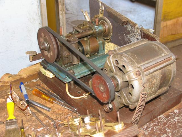 Aurika Used In A Duplicate Key Maker Machine