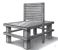 Mueble multipropósito transformable - Tomado de Juventud Técnica